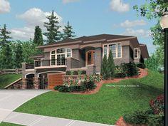 tri level homes   Split-level Plan with Large Kitchen
