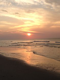 Sunrise at Myrtle Beach.  Fond memories of that trip.  20+ of us in a beach house.