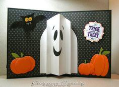 Card i made, here is where i got the idea http://www.littlefamilyfun.com/2011/10/pop-out-ghost-halloween-card.html