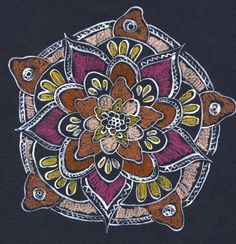 Daily Mandala. Earth Day