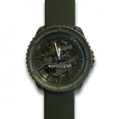 cinturino e cassa verde militare