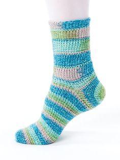 Crochet Sock Patterns: New Methods for Crochet Socks  Download Sock Patterns to Crochet - 12 different sock patterns to crochet