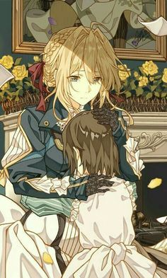 Read 1 from the story ✉✒VIOLET EVERGARDEN ✉✒ by _-cats_kawaii-_ (🌸kartoffel 🌸) with reads. Manga Anime, Fanart Manga, Manga Girl, Anime Art, Anime Girls, Violet Evergreen, Violet Evergarden Anime, Violet Garden, Tamako Love Story
