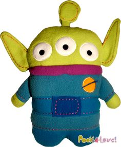 Disney's Pookalooz - Alien from Toy Story