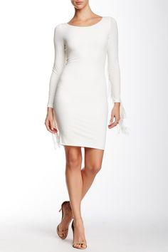 Long Sleeve Fringe Dress by 5th & Mercer on @nordstrom_rack