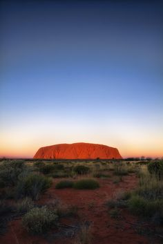 Australia, Uluru Rock, Sunset | Chris Ford