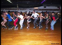 "Chicago, along with Atlanta and Detroit, houses the most prolific urban roller skate dance scene in the country. While this form of skating is largely influenced by hip-hop music and dance, Chicago's style of skating is known as ""JB."""