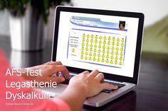 Sie haben einen Verdacht auf Legasthenie oder Dyskalkulie? - Legasthenietest Research Centre, Dyslexia, Dyscalculia, Training