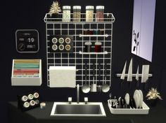 Altea Kitchen Clutter Part 2 by Mary Jiménez at pqSims4 via Sims 4 Updates