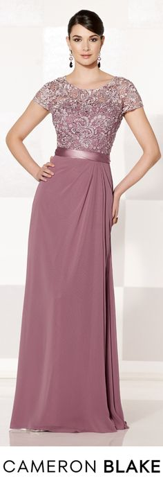 Cameron Blake Fall 2015 - Style No. 215625 cameronblake.com #motherofthebridedresses #eveninggowns