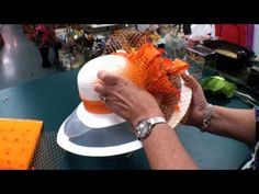 How to create your own fabulous Kentucky Derby-style hat -- part 2 (from a wonderful 2-part tutorial; be sure to watch part 1)