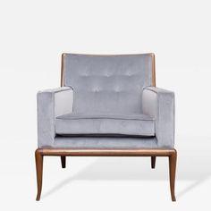 T.H. Robsjohn-Gibbings Lounge Chair by T.H.  Robsjohn-Gibbings