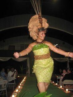 My beautiful cousin Tuai as a taupou