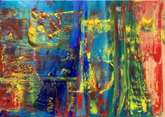 Abstract Oil Painting - RM 816 - 16