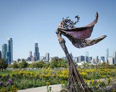 Chicago art photography print Fly  8x10 skyline by KevinKlimaPhoto, $19.99