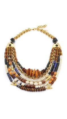 Lizzie Fortunato The Medina Necklace Find it here: http://fave.co/1OtZmor
