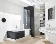 Bathrooms Ideas, Advantages And Disadvantages In Walk In Bathtubs : Modern  Walk In Bathtubs With Shower Combo, walk in