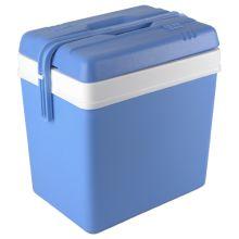 9eu koelbox 24l kunststof blauw