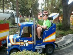 We found a hauler ride at Knotts.