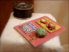 Tiny little practical sewing set handmade in by EarthenVesselMLacy
