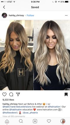 Try New Hairstyles, Pretty Hairstyles, Long Hair Cuts, Long Hair Styles, Hair Skin Nails, Cool Hair Color, Hair Colors, Bleached Hair, Hair 2018