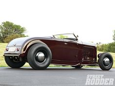 1932 FORD ROADSTER | 1932 Ford Roadster Passenger Side Wheels And Wheelwells