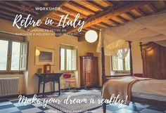 Considering retiring in Italy or maybe purchasing a holiday house? Are you ready to take the first step?! 2 spots left for 15-18 March Move to Italy & Retire Workshop!  There's a lot of work needed to enjoy la dolce vita! Here's what you need to know when it comes to house hunting negotiating taxes health care moving with pets dating and life in Italy!  All the details in my profile link! #movetoitalyworkshop