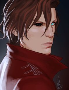 """merwild: """" Kell from A Darker Shades of Magic. I just finished the book and thought I could try to fight the art block. Loved the book btw. Now I have to wait for the second to be released in. Character Inspiration, Character Art, Character Design, Character Reference, Character Creation, Fanart, A Darker Shade Of Magic, Roman, Fantasy Male"""