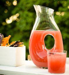 Cherry Lemonade via Peter Callahan Summer Wedding Cocktails Faith West