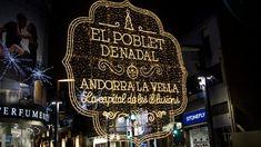 Vánoce v Andorře 2017