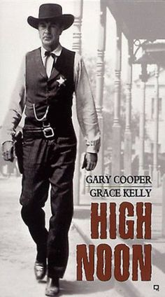 High Noon one of the best westerns for ever! High Noon one of the best westerns for ever! Cinema Tv, Films Cinema, Cinema Posters, Gary Cooper, Hollywood Stars, Classic Hollywood, Classic Movie Posters, Classic Movies, Old Movies
