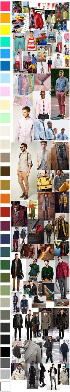 Escala de cores e inspirações
