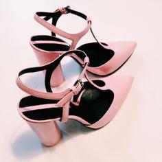 Zara heels #zara #pink #heels #retro #vintage #powder #pale #stilettos #fashion #style