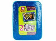 "Fibre-Craft Creative Hands smART Foam Glitter Frames 3.5x5.5"" Rectangle 2/Pkg-Assorted Colors by Fibre-Craft. $6.26. 4185E. Fibre Craft. Brand New Item / Unopened Product. 028444772390. Creative Hands smART Foam Magnetic Glitter Frames. Great for crafts at home, school, camp, parties and more. These foam bases are ready for you to decorate with glitter, markers, foam paint, foam shapes, foam stickers and more! Frame holds a 6x 4"" photo with a 5-1/2"" x 3-1/2"" viewing win..."