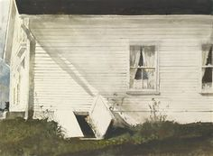 "Andrew Wyeth Title: ELSIE'S HOUSE Lot: 2	Watercolor and pencil/Paper	Low Est.:	$120,000	 Created: 1983	Inscribed and Signed	High Est.:	$180,000	 Size: 20"" x 28"" (50.80cm x 71.12cm)	Sales Price:**	$245,000	 Auction House: Sotheby's New York 05/22/2013"
