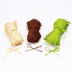 Pour une décoration bucolique et champêtre, le raphia apporte une note naturelle à toutes vos créations.