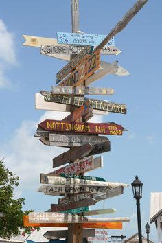 Key West sign in Mallory Square