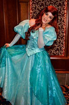 Princess Ariel - New Dress Ariel Disney World, Disney Princess Ariel, Princess Dress Up, Disney Little Mermaids, Disney Fairies, Barbie Princess, Ariel The Little Mermaid, Disney Dream, Ariel Disneyland