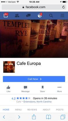 Brunch - cafe Europa