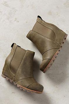 Sorel Lea Wedge Chelsea Boots - anthropologie.com
