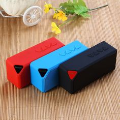Multi-Color X3S Mini Wireless Bluetooth Speaker With LED Light Built-in…