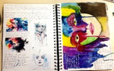 Agnes Cecile Artist Research Page - Guinevere Saunders Artist