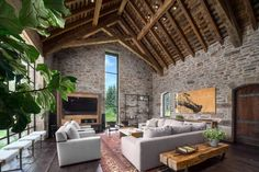 Two Rivers House in USA designed by Snake River Interiors