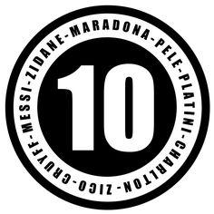 10 Légendaires , football, soccer, Pélé, Maradona, Platini, Charlton, Zico, Cruyff, Messi, Zidane  [Facebook]: K E Y G E N | Unlock Your Mind