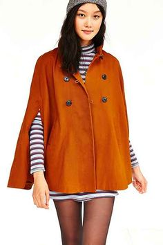 Alice & UO Cloclo Cape Jacket - Urban Outfitters