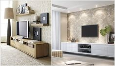 Design an Interesting and Chic TV Wall 3