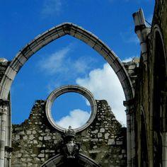 Sky Sky Blue Sky     (Convento do Carmo)