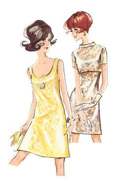 Schnittmuster: Kleid, Jacke, Cape - Retro - Damen - burda style