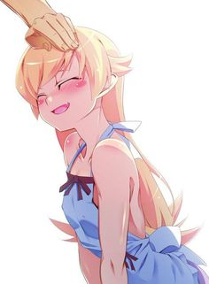 Shinobu's seems to love head pats.