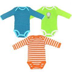 baf1889fd 3 Teile/los Nette Baby Bodys Baumwolle Junge Mädchen Overall Neugeborenen  Kleidung Langarm Baby Body